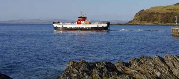 Die Reederei Caledonian MacBrayne veranstaltet eine Roadshow und Marketing-Tournee in Verbindung mit einem Gewinnspiel