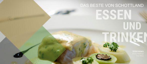 Der SchottlandBerater hat zusammen mit dem CEO Jeremy Hawkings von Connoisseurs Scotland eine kulinarische Reisebroschüre von Schottland erstellt