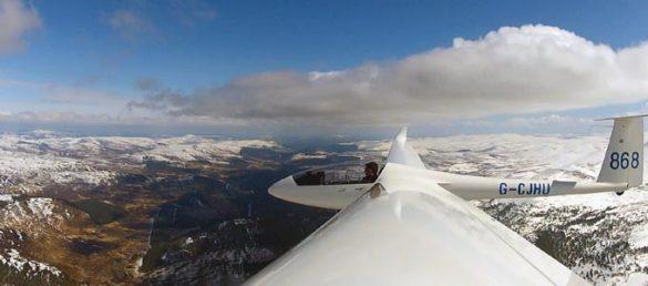 Das Segelfliegen in der Royal Deeside Region im Osten Schottlands bitet ganz besondere Reize
