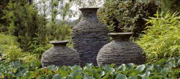 Diverse Kunstobjekte bilden die ganz besondere Skulturenausstellung im Threave Garden