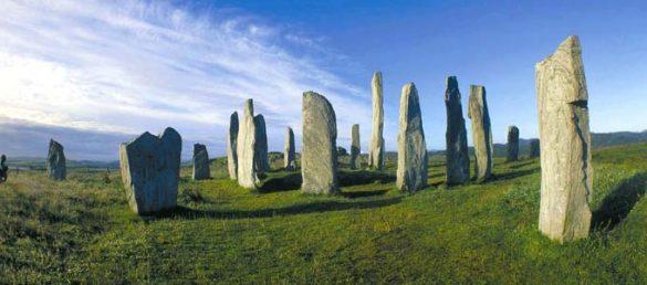 Der Reiseleiter Dr. Michael Krause beschreibt die Steinkreise auf der Hebrideninsel Lewis aus seiner persönlichen Sichtweise