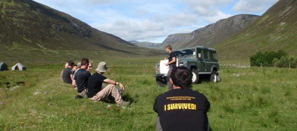 Ein Survival Camp in den Highlands zu überstehen ist eine ganz besondere Herausforderung