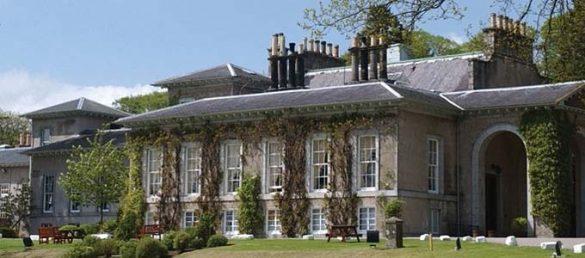 Das Thainstone House Hotel in Inverurie westlich von Aberdeen liegt in einem weitläufigen Landschaftspark