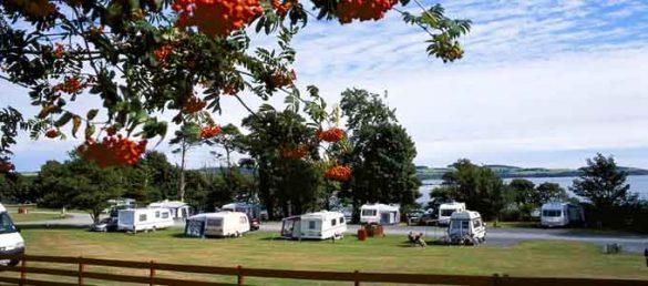 Die besten Campingplätze Schottlands findet der Besucher unter der Marke »Thistle Holiday Parks«
