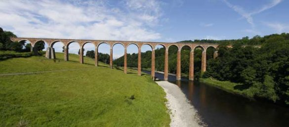 The Scottish Borders can be best explored by rail