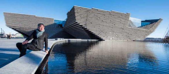 Das V&A Design Museum in Dundee wurde im September 2018 eröffnet