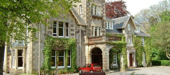 Das Viewfield House Hotel auf der Insel Skye wird von einem Mitglied der Macdonald Familie geführt