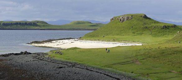 Die Region Glendale im äußersten Westen ist ideal zum Wandern auf der Insel Skye