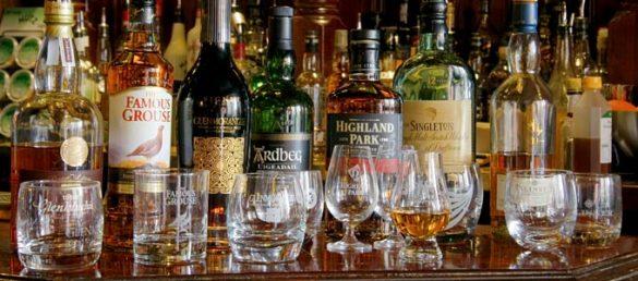 Whisky wird auch gern als Wasser des Lebens bezeichnet