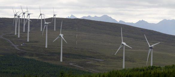 Die Windkraft nimmt in Schottland eine ganz besonders hervorgehobene Stellung ein