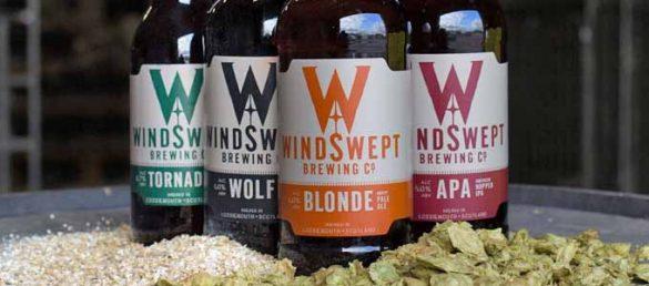 Bei der Windswept Brewing Co. findet findet man leckeres schottisches Bier aus Moray