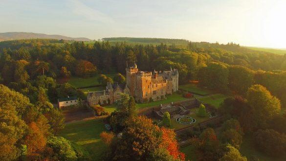 Am Wochenende über Ostern 2020 hat Glenapp Castle Hotel viel Neues zu bieten