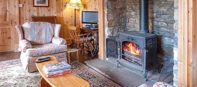 The Granary ist ein gemütliches Ferienhaus unweit der Küste von Moray