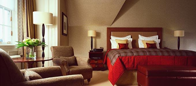 Das Gleneagles Hotel in Perthshire ist eines der besten Golf-Resorts der Welt
