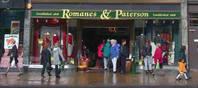 Romanes and Paterson ist ein ehrtwürdiges Geschäft an der Princes Street in Edinburgh