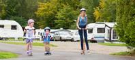 Der Lomond Woods Holiday Park ist ideal für aktive Gäste und Familien