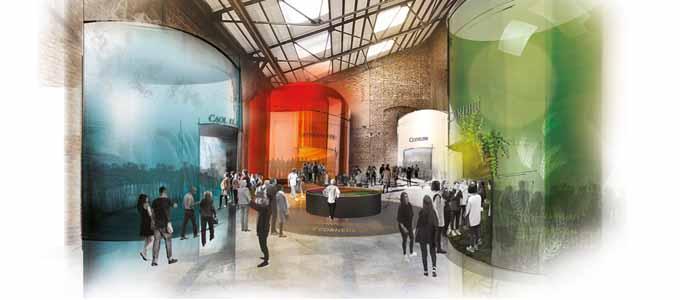 Diageo investiert 150 Millionen britische Pfund im Laufe der nächsten drei Jahre in seine neuen Johnnie Walker Experiences
