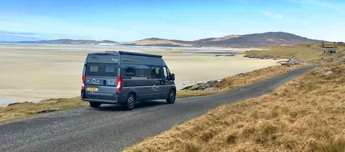 Mit den Highland Campervans kann man die Freiheit auf Rädern hautnah erfahren