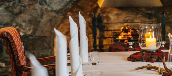 Speisen wie Lord und Lady kann man jetzt im Maryculter House Hotel bei Aberdeen