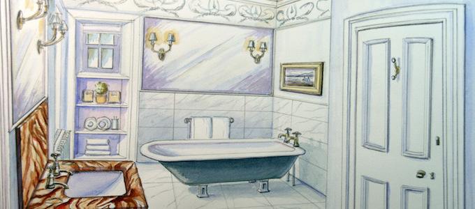 Das Endeavour Penthouse Apartment im Glenapp Castle gilt als das schönste und luxuriöseste Feriendomizil in Ayrshire