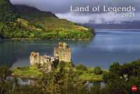 Der Heye-Kalender Land of Legends 2021 bietet Schottlands Burgen und Schlösser als Motive