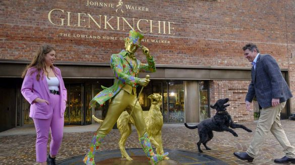 Glenkinchie Distillery in East Lothian ist das »Lowland Home of Johnnie Walker
