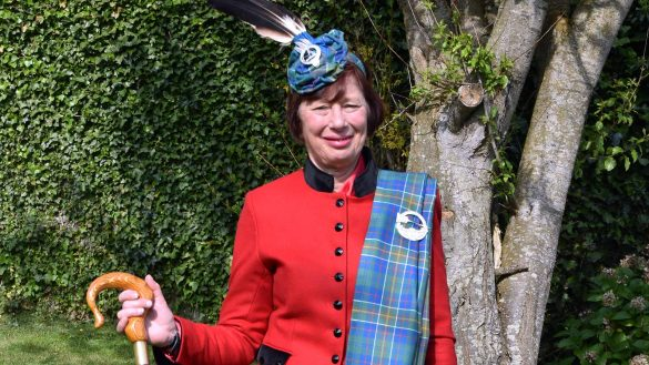 Madam Pauline Hunter of Hunterston is the 30th Chief of Clan Hunter based at Hunterston Castle in North Ayrshire
