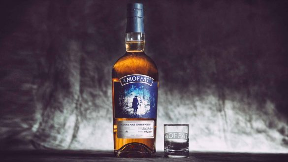 Dark Sky Spirits stammt als Blended Malt Whisky aus der Moffat Distillery in Dumfries & Galloway