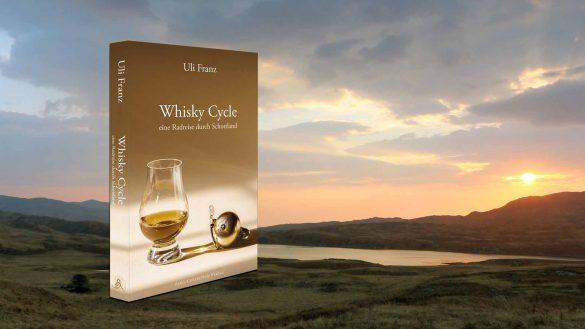 Mit seinem Buch Whisky Cycle - eine Radreise durch Schottland nimmt der Autor Uli Franz den Leser mit auf eine kombinierte Fahrrad- und Whisky-Tasting-Reise