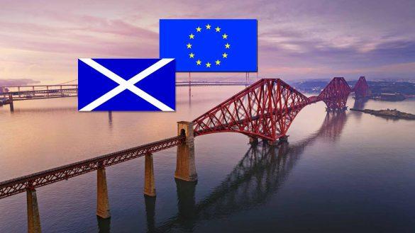 Großbritannien verlässt die EU durch den Brexit, doch Schottland bleibt Europas Freund