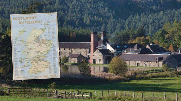 Beim Alba Collection Verlag gibt es ab sofort Karten von Schottlands Destillerien in aktualisierter Auflage 2021