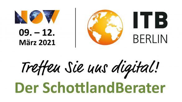 Schottland präsentiert sich mit vielen Partnern auf der virtuellen ITB Berlin 2021 NOW
