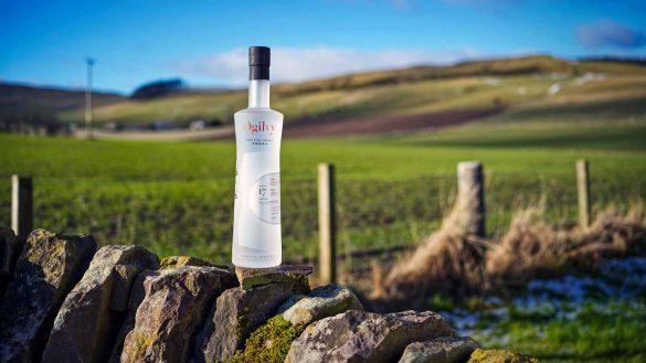 Auf der Ogilvy Farm wird Schottlands erster Single Estate Premium Vodka aus Kartoffeln hergestellt