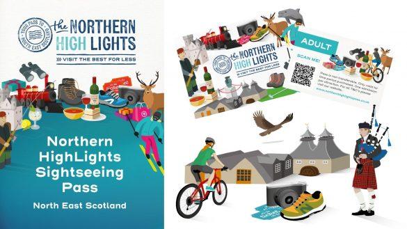 Mit dem Northern HighLights Pass ist ein neuer attraktiver Besucherpass für den Nordosten Schottlands auf dem Markt
