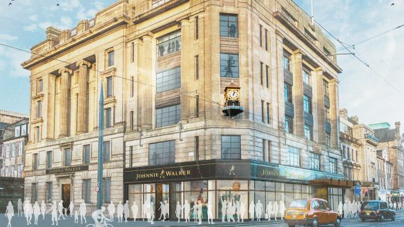 Johnnie Walker Princes Street und die Four Corner Distilleries stellen jetzt neue Partner von Luxury Scotland dar