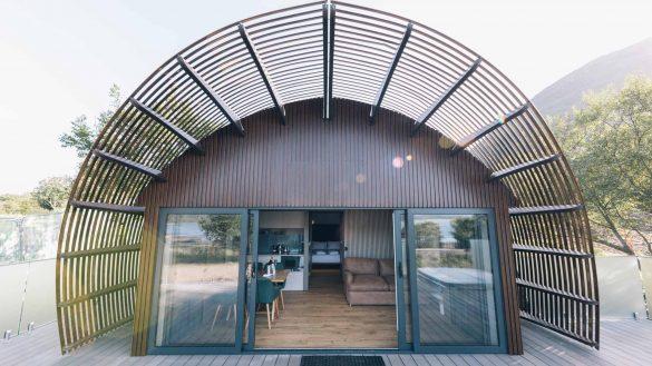 Die neuen SeaBeds Luxury Lookout Lodges bei Glencoe bieten höchsten Komfort in naturnaher Lage