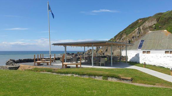 An der Knockinaam Lodge bei Portpatrick steht eine neue Outdoor Lounge für Bar Lunches und Afternoon Teas zur Verfügung