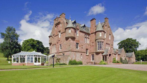 Das Cringletie House Hotel ist Zeugnis schottischer Hotel-Noblesse in den Borders